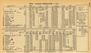 Louny-Rakovník 1981-82