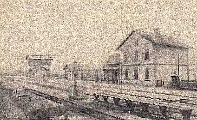 Hřivice 1908